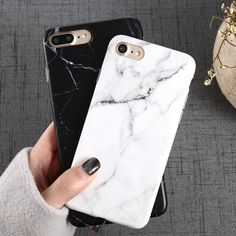 Luxury Marble Pattern i 8 Phone Case For iPhone 8 Plus Case For iPhone8 Plus Black Phone Accessories Coque X 7 Plus 6 6S 5 S SE //Price: $9.00 & FREE Shipping //     #iPhonex