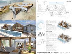 [AC-CA] International Architectural Competition - Concours d'Architecture | [SYDNEY] Maison de Vacances en Containers