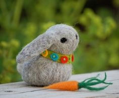 felted bunny! by juanita