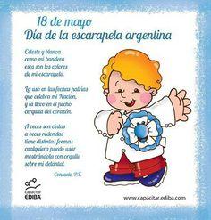Dia de la escarapela, Argentina. Ideas Para, Winnie The Pooh, Diy And Crafts, The Unit, Teaching, Education, Disney Characters, School, 25 Mayo