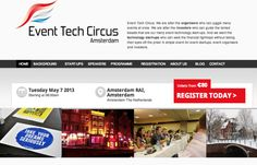 Event Tech Circus - Where Event Startups meet - Event dedicated to Event startups