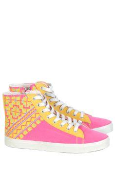 Stockholm Market - KIM&ZOZI Pink sneakers