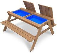 Woodlii Piknikbord Sand & Vann, Brun