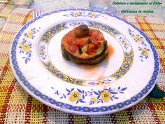 Salsicce e melanzane al forno