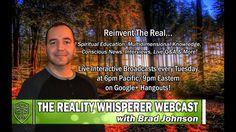 Reality Whisperer Webcast: Agartha & The Inner Earth