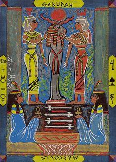 Four of Swords - Kazanlar Tarot by Emil Kazanlar  (Hátor)