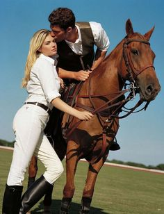 www.pegasebuzz.com/leblog | Sexy Equestrian with Kate Upton by Bruce Weber for Vogue Germany, january 2013