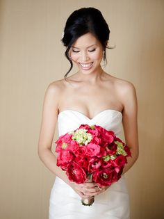 #bouquet  Photography: Wayne Yuan Photography - wayneyuan.com Wedding Planning: Fresh Events Company - fresheventscompany.com/main.html Flowers: La Petite Gardenia - lapetitegardenia.com/  Read More: http://stylemepretty.com/2012/01/17/pasadena-wedding-by-wayne-yuan-photography/