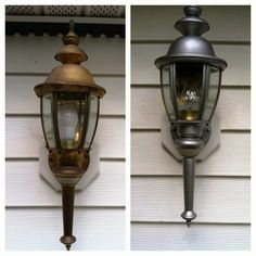 Cape Cod Creativity : Changing Exterior Lights for $1