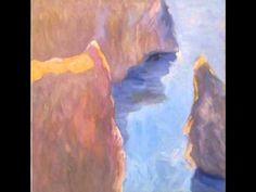 Seagulls world, piano improvisation to painting, Jussi Vaarala