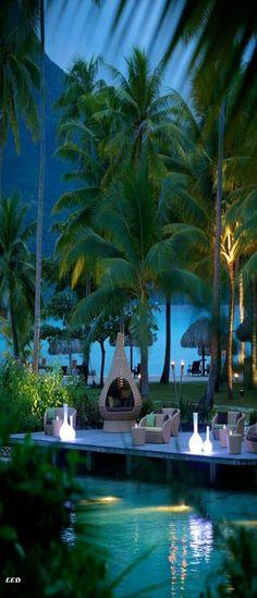 Bora Bora. (LadyLuxuryDesigns.) #Mylifemystyle