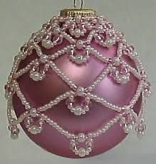 Znalezione obrazy dla zapytania easy beaded ornament cover