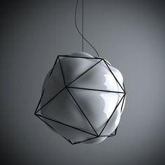 Semai_blown glass lamp on Behance