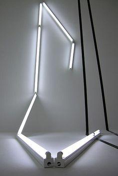 Bill Culbert, Right-angle (Black and Light) 2006.
