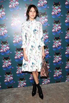 La #tendencia del #print floral llega de la mano de celebrities como #AlexaChung y #PoppyDelevinge,