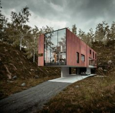 House for a Photographer by Hyde + Hyde Architects in Cardiff, Wales