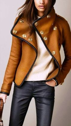fall Burberry look