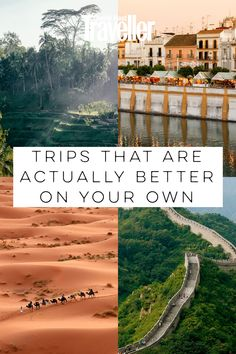 best trips to take alone - Trip ideas for solo travellers – from photo adventures to co-living gambles. -The best trips to take alone - Trip ideas for solo travellers – from photo adventures to co-living gambles. Solo Travel Tips, Travel Advice, Travel Guides, Travel Goals, Travel Hacks, Travel Essentials, Cool Places To Visit, Places To Travel, Travel Destinations