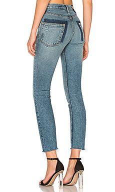 REVOLVE DENIM Distressed Jeans, Blue Skinny Jeans, Ripped Jeans, Denim Jeans,  Denim 6865c66843