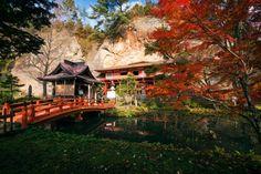 Japan, Tohoku Region, Iwate Prefecture, Hiraizumi, Buddhist temple. (Photo by: JTB/UIG via Getty Images)