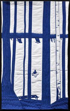 Finnish Quilt  ~ Suomen metsä ja järviphoto by Eva Radscheit