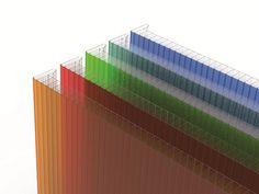 Modular polycarbonate system for ventilated facade ARCOPLUS®626 SISTEMA FACCIATA VENTILATA by dott.gallina