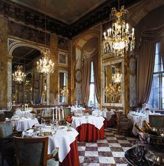 beautiful restaurants in France - Pinterest pic picks by RetoxMagazine.com