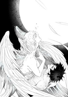 akira x ryo \ akira ; akira x ryo ; akira x ryuji ; Manga Anime, Manga Art, Anime Guys, Anime Art, Devilman Crybaby, Aesthetic Art, Aesthetic Anime, Otaku, Character Art