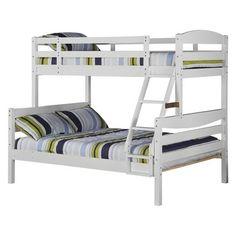 Walker Edison Wood Bunk Bed
