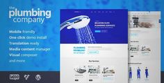 Download and review of Plumbing - Repair, Building & Construction Theme, one of the best Themeforest Corporative themes