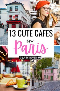 Paris Food Guide | Paris Cafes | Paris Travel Guide | 13 Prettiest places in Paris | 13 Hidden Gems In Paris | how to travel in Paris | Paris Instagram Spots | Paris bucket list locations | traveling in Paris like a pro | best travel photos in Paris | Instagram spots in Paris | Cutest cafes in Paris | best Paris photo locations | best Paris streets | best things to do in London | Paris itinerary | Paris cafes to visit | Paris France Guide | Paris France Travel | Paris France Photography… Paris France Travel, Paris Travel Tips, Travel Tips For Europe, Best Places To Travel, Cool Places To Visit, Travel Destinations, Paris Cafe, Paris Paris, Day Trip From Paris