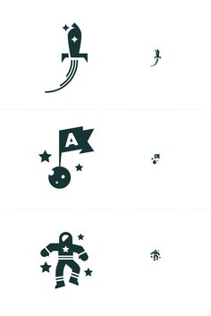 Space Icons   http://dribbble.com/shots/646040-Space-Icons