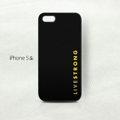Livestrong Carbon Pattern  - iPhone 5 5S (3D) Cover Case