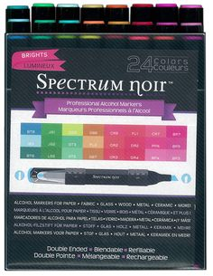 spectrum noir greens | New Spectrum Noir Pen Design