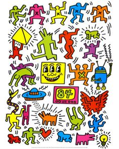 Keith+Haring+Subway+Art | Keith Haring