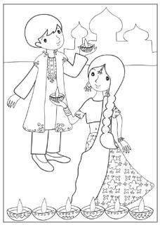 Printable Coloring Cards for All Occasions . 24 Printable Coloring Cards for All Occasions . Thinking Of You Coloring Book Diy Cards and Gifts for Colouring Pages, Printable Coloring Pages, Coloring Pages For Kids, Kids Colouring, Diwali Cards, Diwali Greetings, Diwali For Kids, Diwali Drawing, Diwali Activities