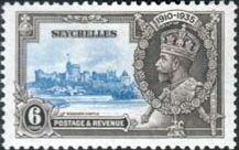 Seychelles 1935 Silver Jubilee SG 128 Fine Mint Scott 118 Other Seychelles Stamps HERE