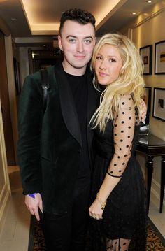 Pin for Later: Wer ist eigentlich noch nicht mit Ellie Goulding befreundet?! Ellie Goulding mit Sam Smith