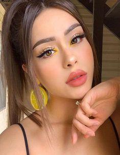 Modern & Gorgeous Makeup Styles for Teenage Girls - Makeup Tips Makeup Eye Looks, Dark Makeup, Crazy Makeup, Cute Makeup, Gorgeous Makeup, Natural Makeup, Soft Makeup, Face Makeup Art, Flawless Face Makeup