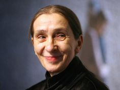 The late German choreographer Pina Bausch, at a Berlin media appearance in 2007.