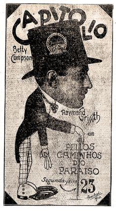 1925 - PATH TO PARADISE - Clarence G. Badger - (CORREIO DA MANHA, Friday, November 20, 1925, Rio de Janeiro, Brazil)