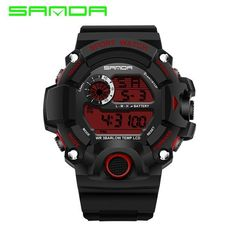 2017 SANDA Fashion Military Watch Men Waterproof Mens Watches Top Brand Luxury Sports Watches relojes hombre relogio masculino