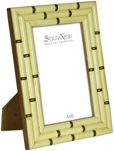pale offwhite 4x6 inches picture frame in bulk wholesale handmade photo frame in
