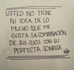 A usted me refiero