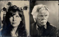 """Daniel Carrillo - portraits using the 19th century process called the """"wet collodion method""""..."""