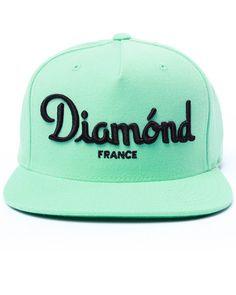 Diamond Supply Co - Champagne Snapback Cap Snapback Hats 92631fc3e797