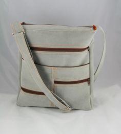 Veľké tašky - taška Comfort bledo šedá