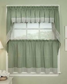 21 best tiers swags images kitchen window curtains kitchen rh pinterest com