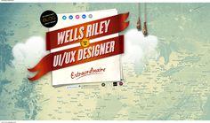 Currently browsing Wells Riley for your design inspiration Great Website Design, Portfolio Website Design, Blog Design, Website Designs, Design Design, Design Ideas, Wells, Header Design, Creative Web Design