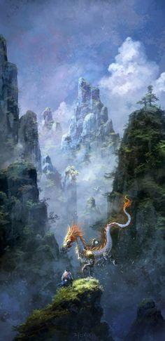"""""""Ride The Cloud"""" by ChaoyuanXu"""